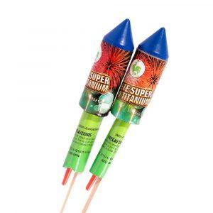 Cohete Súper Gallo Sonoro