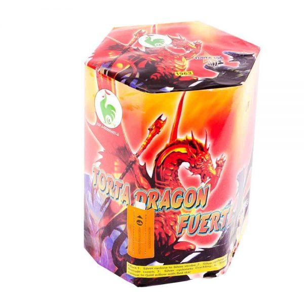 Torta Dragón Fuerte
